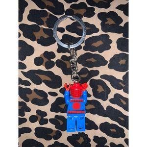 Spiderman Accessories - Spider-Man LEGO Keychain